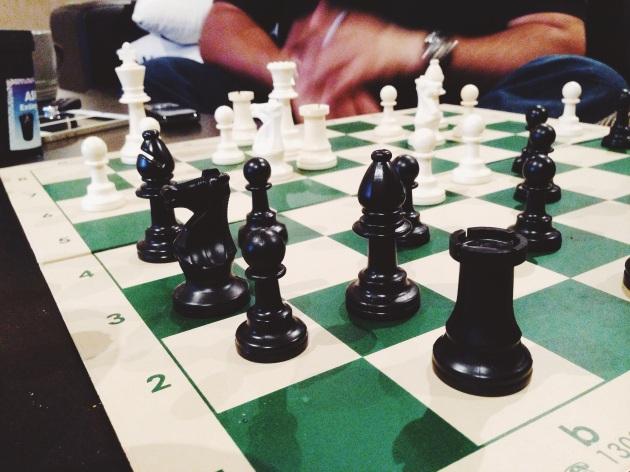 Schachspiel - leider verloren